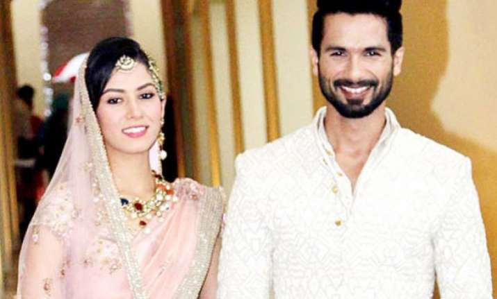 here s how shahid kapoor is pampering his wife mira rajput