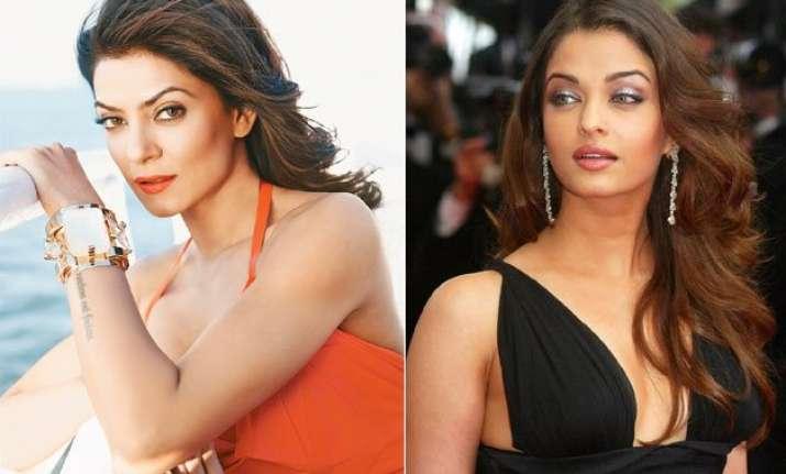 what sushmita sen did to defeat aishwarya rai at miss india