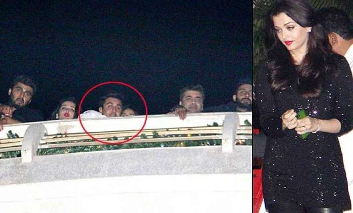 ranbir katrina celebrates pk s success aamir aishwarya