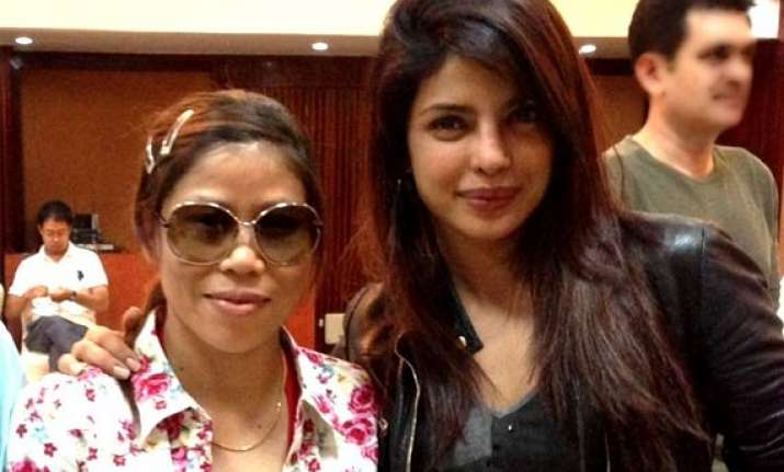 priyanka chopra on mary kom s asiad gold that s woman power