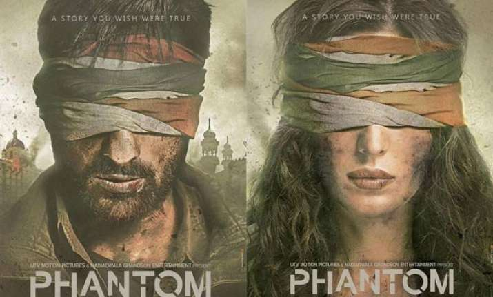 revealed saif ali khan and katrina kaif s first look in