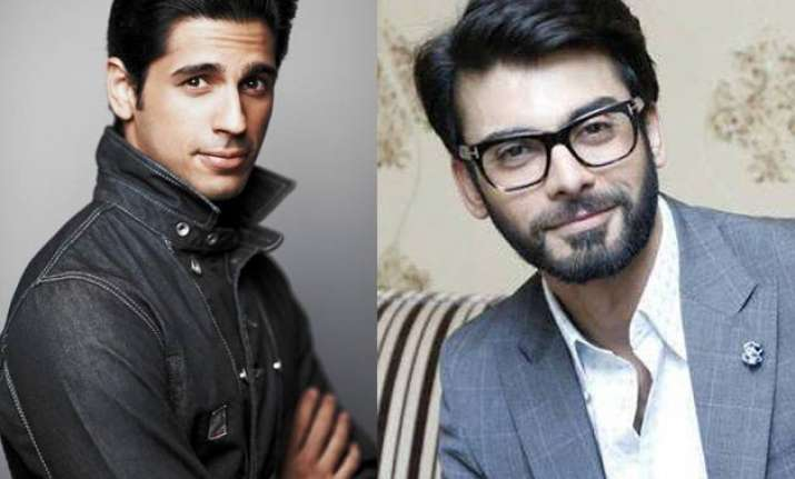 fawad and sidharth to play writers in kapoor sons