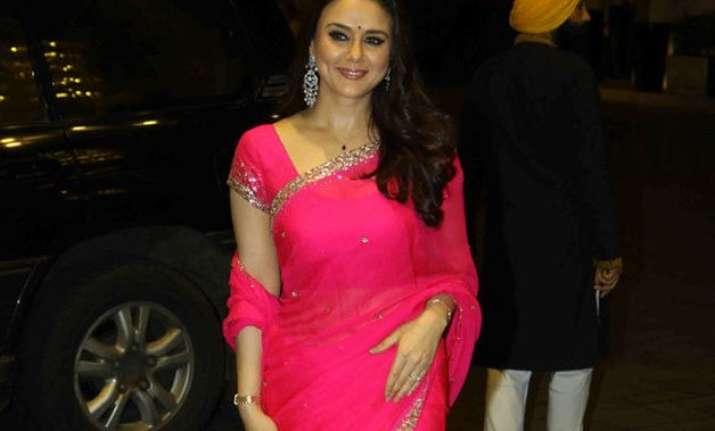 finally preity zinta talks about her goodenough wedding
