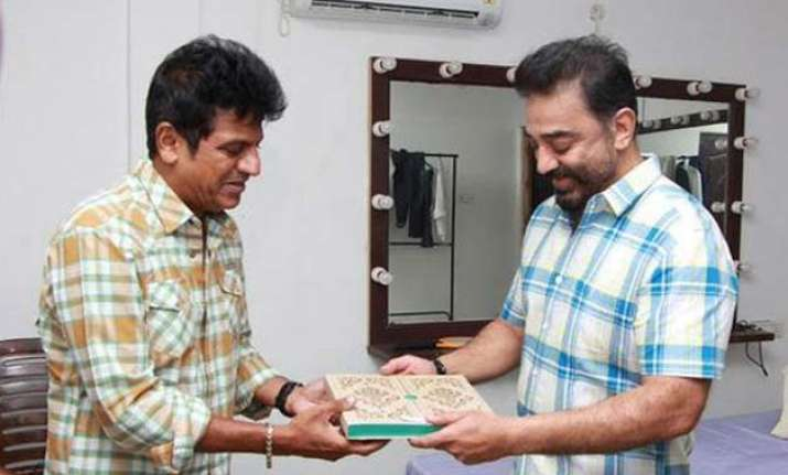 shivrajkumar invites rajinikanth kamal for daughter s