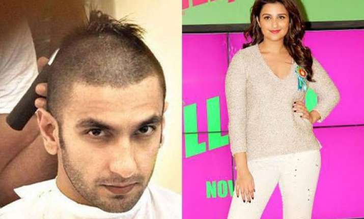parineeti chopra finds ranveer singh s bald look hot