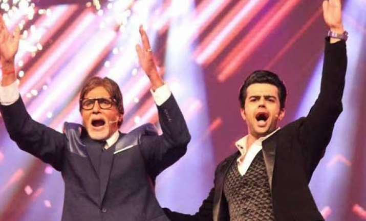 manish paul proud to co anchor kbc with big b