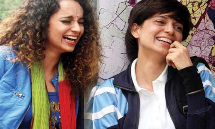 playing double role was challenging for kangana