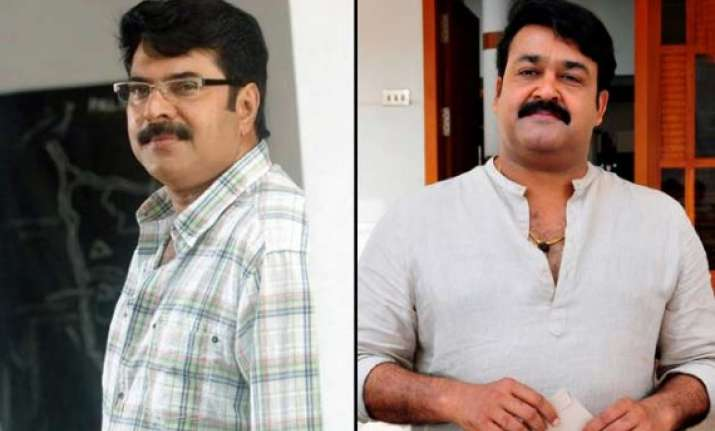 mammootty and mohanlal look for bright new year
