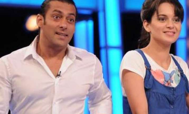 kangna seems to be out of salman s inner set