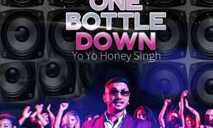 yo yo honey singh is back with one bottle down