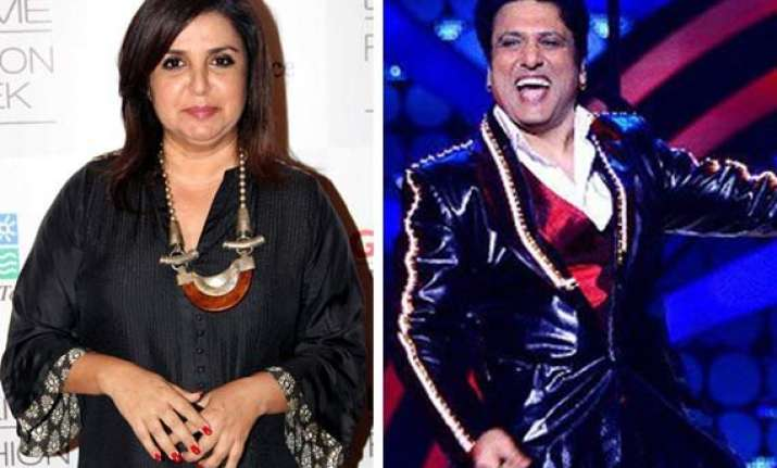 govinda is farah khan s favourite dancer
