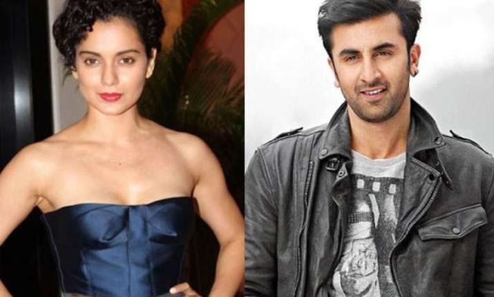 kangana ranaut to star opposite ranbir kapoor in sanjay