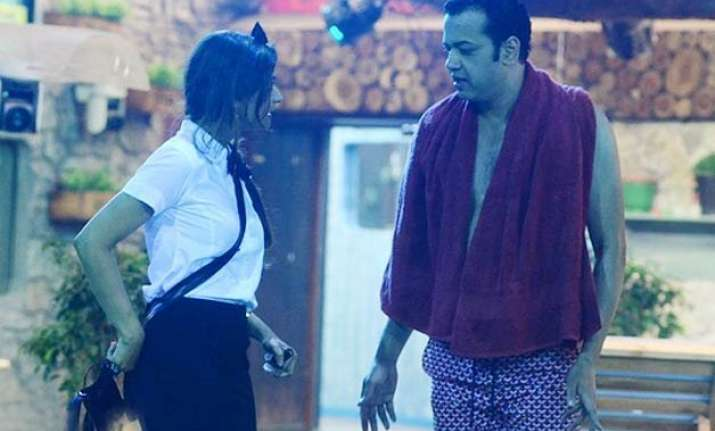 rahul mahajan and dimpy are still in cordial terms