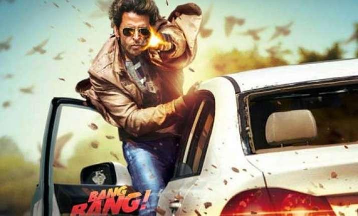 hrithik katrnina s bang bang crosses rs 150 crore in india