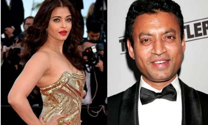 aishwarya rai to share screen with irrfan khan john abraham