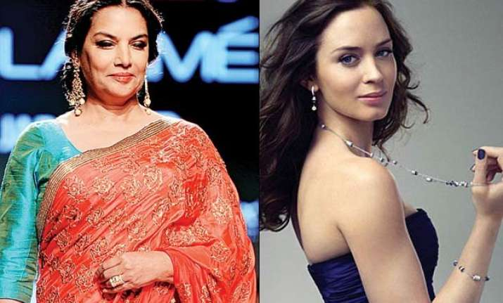 why are shabana azmi emily blunt criticising cannes film