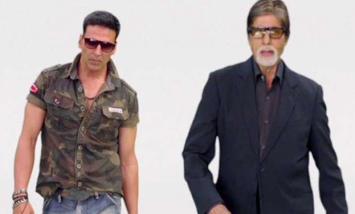 big b hrithik akshay together in birju song