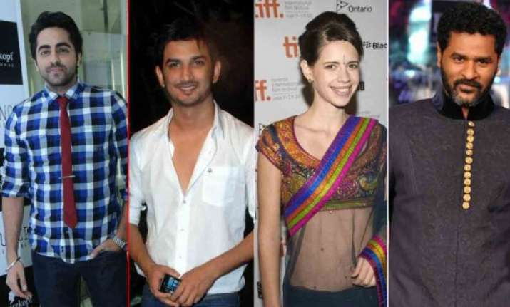 ayushman sushant kalki prabhudeva share their diwali plans