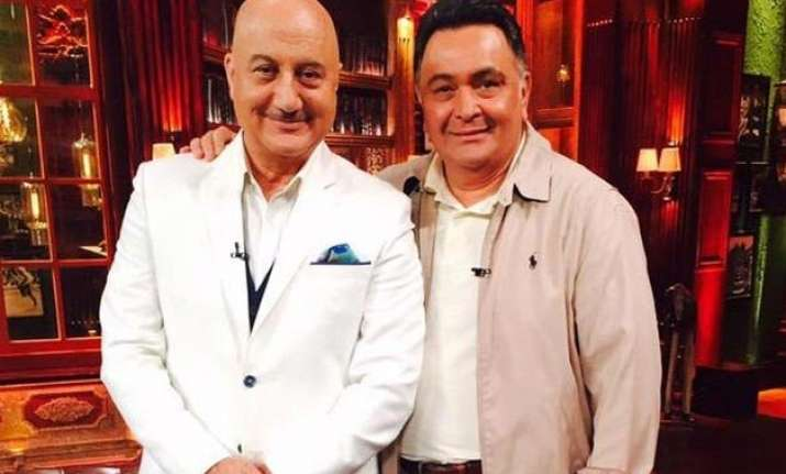 rishi kapoor to appear on anupam kher s show