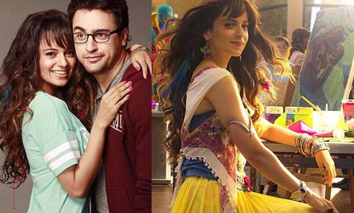 kangana ranaut is a stylish artist in katti batti
