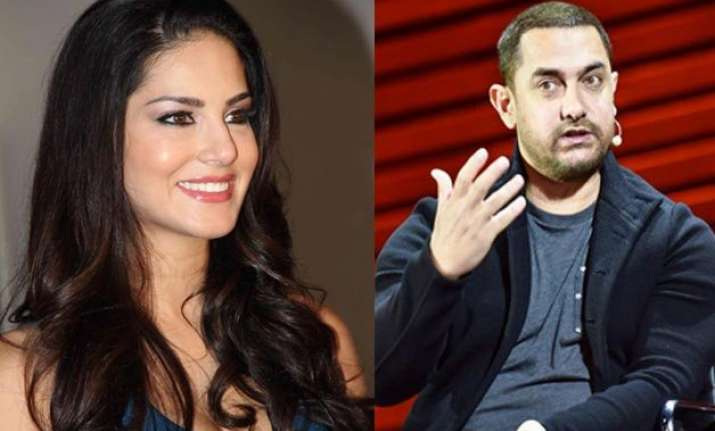 when sunny leone s denial made mr perfectionist aamir khan