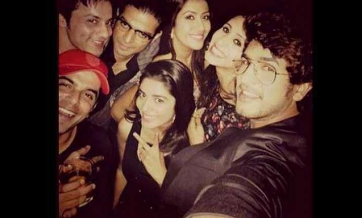 karankitakishaadi the couple parties hard before the