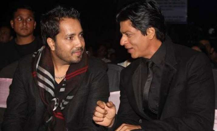 shah rukh khan finds paajji mika singh great