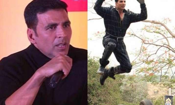akshay kumar takes stand for stuntmen