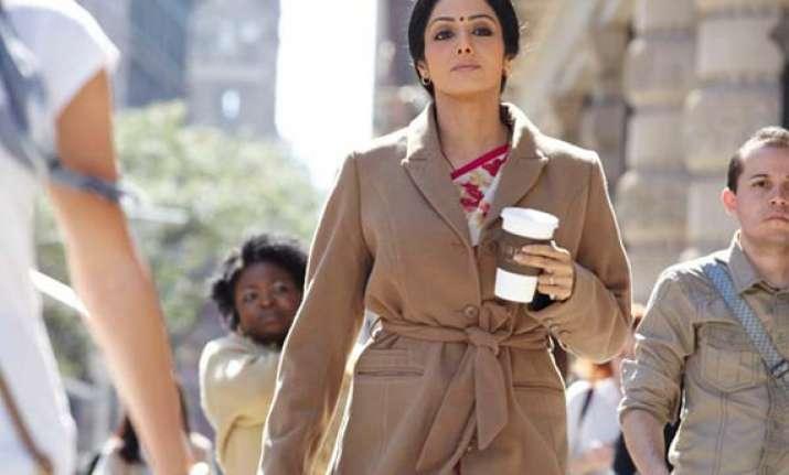 film review sridevi shines in english vinglish