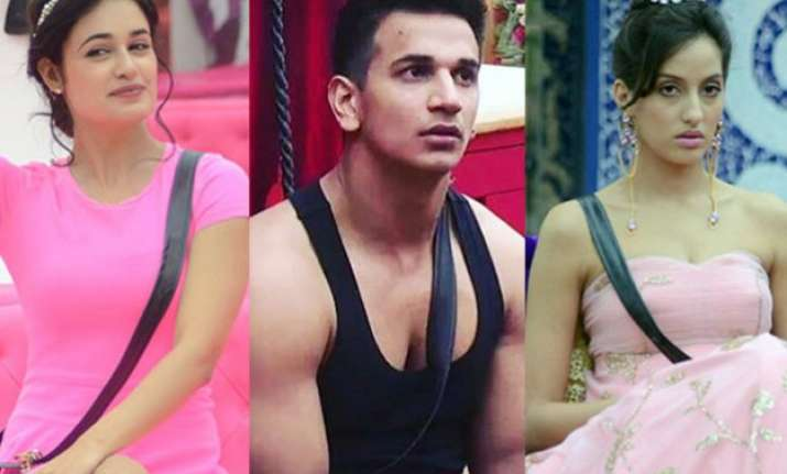 double trouble prince narula to face two lady loves yuvika