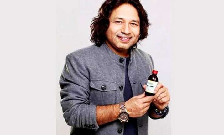 kailash kher endorses cough syrup
