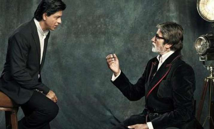 amitabh bachchan gives life lessons to shah rukh on twitter