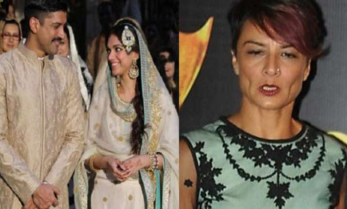 did farhan akhtar leave his wife adhuna for aditi rao hydari