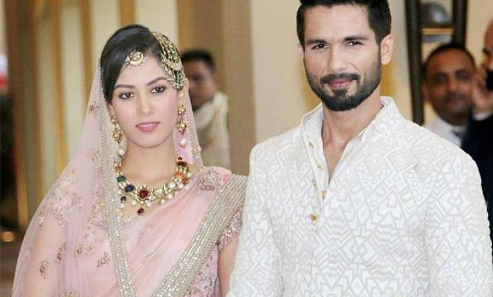shahid mira wedding exclusive coverage of the grand