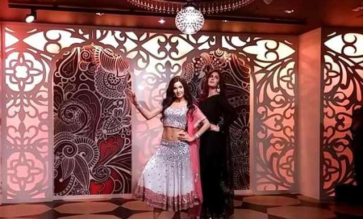 katrina kaif s wax statue unveiled in london