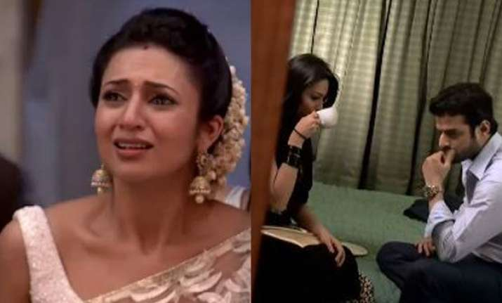 shocking ishita to catch raman and shagun red handed in yeh