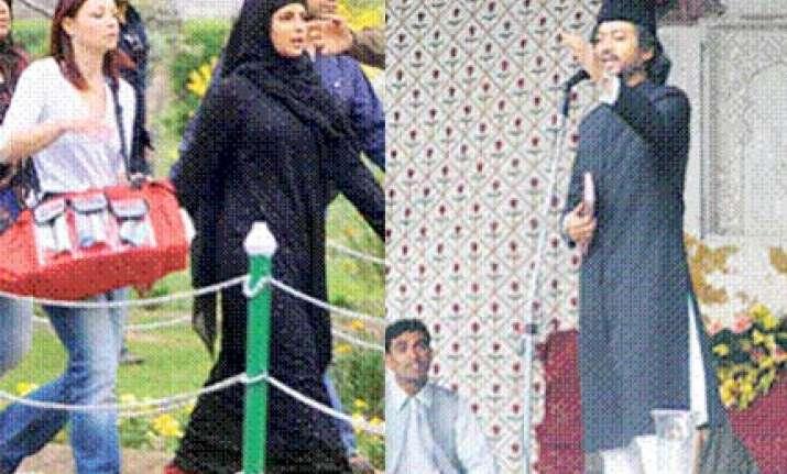 priyanka in a burqa in saat khoon maaf
