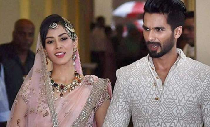 mira is my wife not actress says shahid kapoor