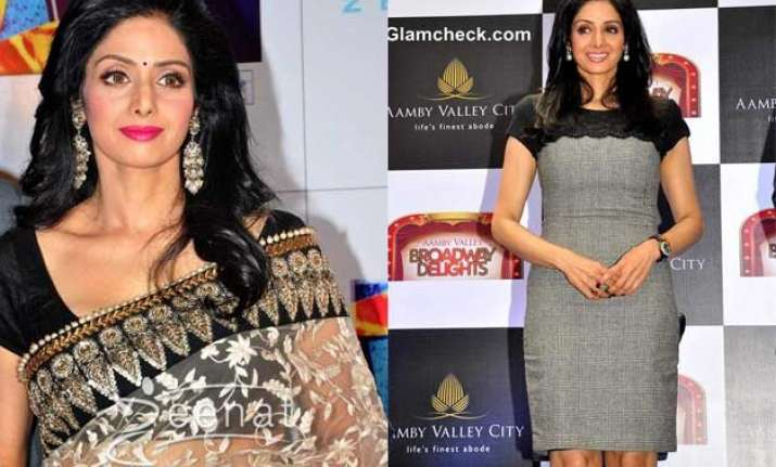 5 iconic looks of sridevi that prove she is the ageless