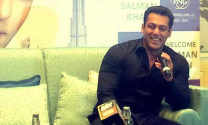 salman khan spotted endorsing jewellery brand in dubai