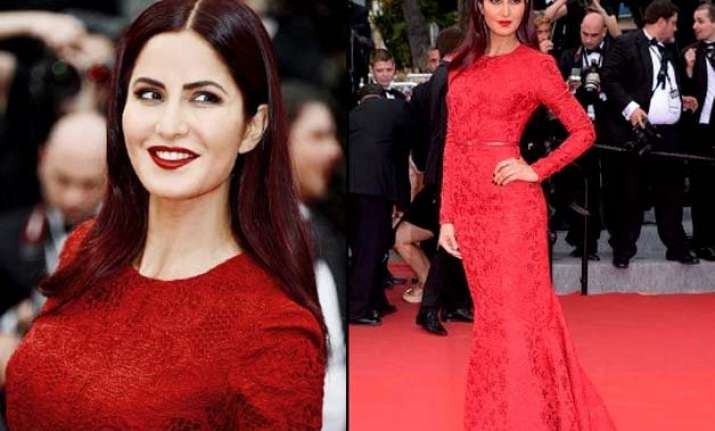 cannes 2015 katrina kaif paints the town red see pics