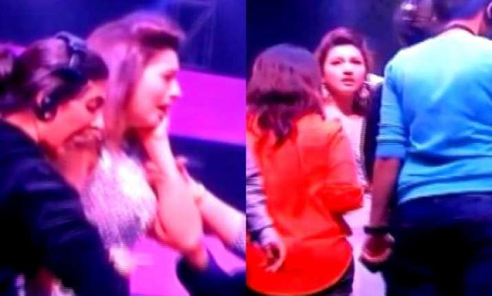 gauahar khan slapped molested at india s raw star finale
