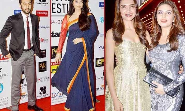 mff 2014 deepika ranbir aishwarya akshay add dazzles at the
