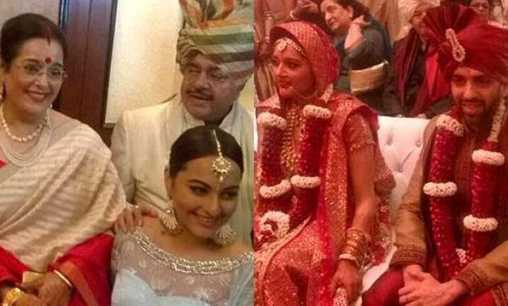 sonakshi sinha s brother kussh s wedding narendra modi