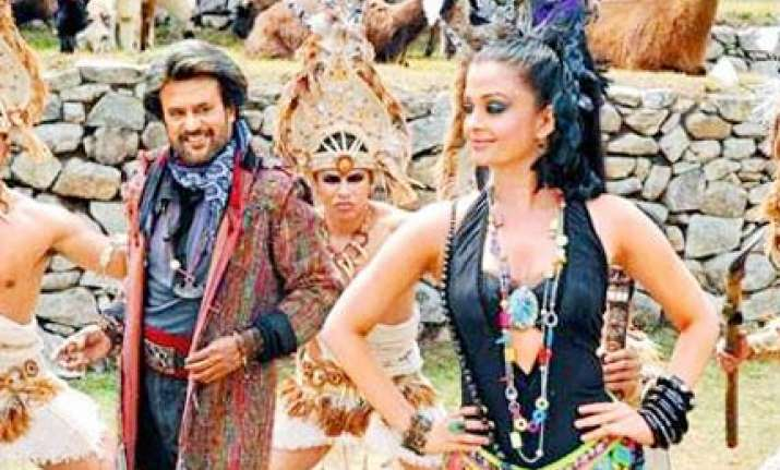 aishwarya rajnikanth launch enthiran music