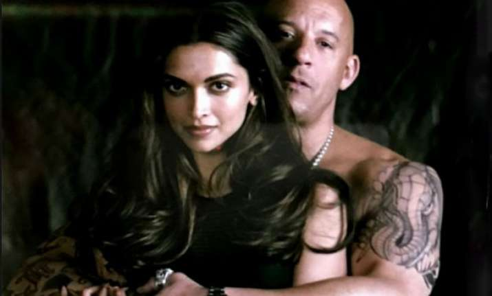 uff hotness deepika and vin diesel s first pic from xxx