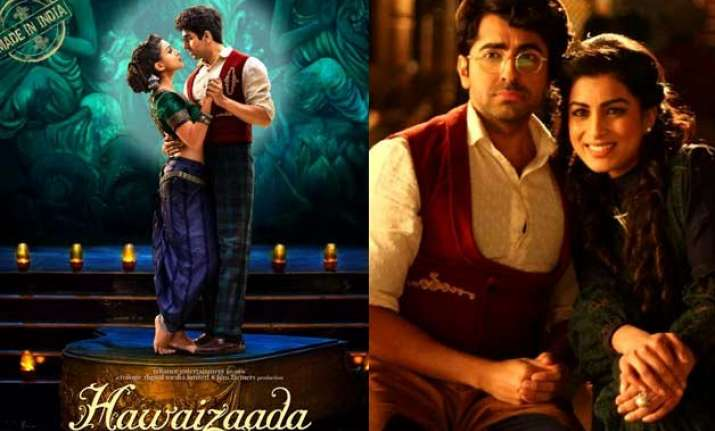 hawaizaada poster out love is in the air for ayushmann