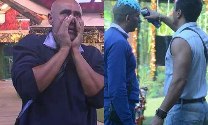 bigg boss 8 day 100 ajaz troubles ali puneet breaks down
