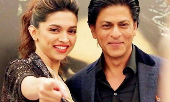 shah rukh khan praises deepika padukone says she was always