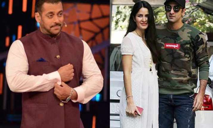 salman khan has nothing to do with ranbir kapoor katrina